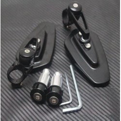 Uniwersalne Motocyklowe Aluminiowe Lusterka
