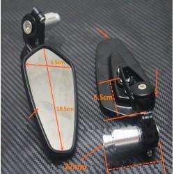 Espejos Laterales Universales para Motocicletas