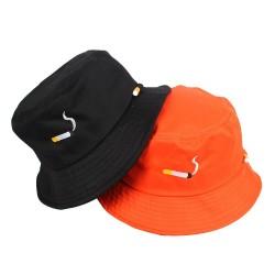 Cigarette design - bucket hat - unisex