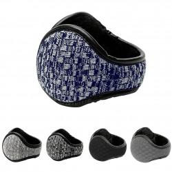 Windproof - foldable - leather earmuffs