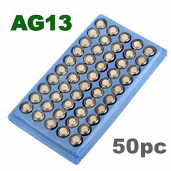 AG13 357A LR44 SR44SW SP76 L1154 RW82 RW42 Battery 50 pcs*