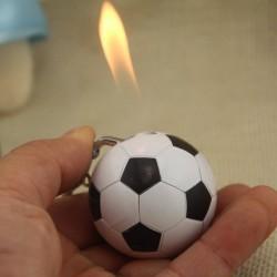 Football shaped cigarette lighter - keychain