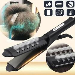 Keramischer Haarglätter - Temperatureinstellung - ionisch - trockenes / nasses Haar