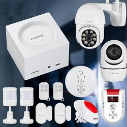 Smart home security alarm system - G95 WiFi - GSM - security camera