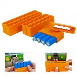 18650 Batteriehalterung - einreihig - doppelseitiges Punktschweißen - Lithium-Batteriepackhalter