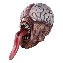 Biochemische Zombiemaske - mit langer Zunge - Latex - Halloween / Maskeraden