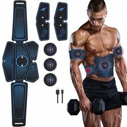 Schlankheits- und Massagegürtel - Muskeltrainer - USB