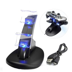 PlayStation 4 controller dock - usb dual charging with LED light