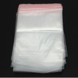 13 * 19cm - Ziplock reclosable packing bags 100 pieces