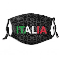 Italia cotton face mask - PM.25 - washable - breathable
