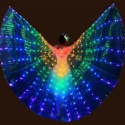 LED Schmetterlingsflügel - Showtanz / Kostümparty / Maskerade / Halloween