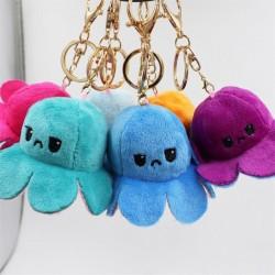 Reversible octopus - keychain