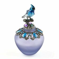 Vintage bird on branch - perfume bottle - 40ml