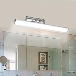 Modern - LED mirror light - wall lamp - stainless steel - waterproof - 12W - AC 90-265V - 42cm