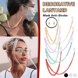 Multifunktionskette - Halter für Brille / Gesichtsmaske - dekoratives Lanyard - 3 Stück