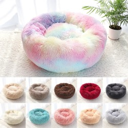 Comfortable soft bed for dogs / cats - round cushion