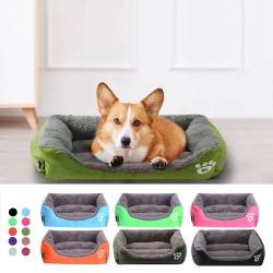 Schlafendes Haustierbett - Plüschmatte für Hunde / Katzen - wasserdicht