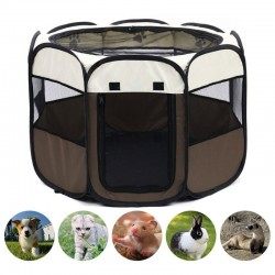 Portable pet tent - foldable playpen - outdoor / indoor