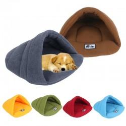 Cama de forro polar suave - caseta pequeña para perros / gatos