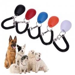 Entrenador de perros - llavero ajustable con sonido - clicker - dispositivo anti ladridos