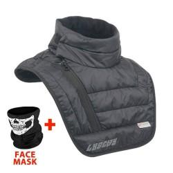 Bufanda cálida de motocicleta - protector de cuello / pecho - mascarilla - pasamontañas - impermeable - a prueba de viento