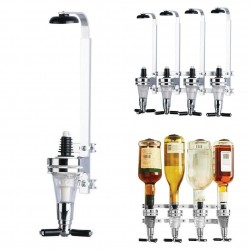 Wall mounted wine dispenser - 4 bottles - 25ml - 30ml - 45ml