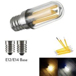 E14 - E12 - 1W - 2W - 4W - LED - Kühl- / Gefrierschrank Minibirne - dimmbar