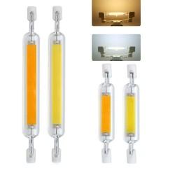 R7S - AC 110V - 220V - 230V - 6W - 12W - 20W - LED - COB Halogenlampe - Glasröhre - 10 Stück