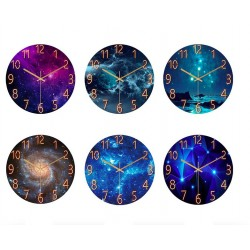 Quartz wall clocks with creative designs
