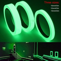 3M luminous tape - night vision - self-adhesive tape - 10mm- 12mm - 15mm