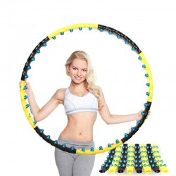 Double row magnetic hula hoop - fitness massage - cardio equipment