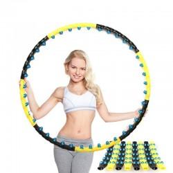 Zweireihiger magnetischer Hula Hoop - Fitnessmassage - Cardio-Geräte