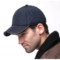Waterproof baseball cap with earflap for winter
