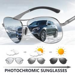 Klassische Sonnenbrille - photochrom - polarisiert - blendfrei - sicher für Nachtfahrten - UV400