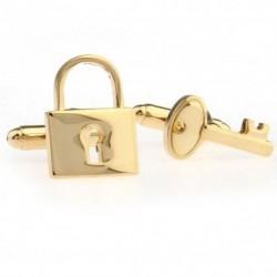 Key / lock - cufflinks - 2 pieces
