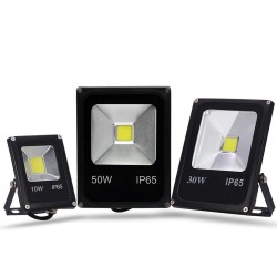 10W - 30W - 50W - 220V - LED floodlight - waterproof reflector - motion sensor