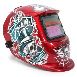 Welding helmet - automatic dimmer - Lucky Speed Shop