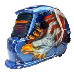 Welding helmet - automatic dimmer - American Eagle