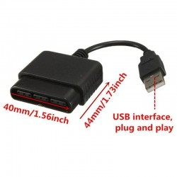 Sony PS1 PS2 Play Station 2 Joypad GamePad To PS3 PC USB Games Controller Adapter Converter