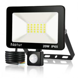 LED-Scheinwerfer - Außenreflektor - mit Bewegungssensor - 20W - 30W - 50W - 100W