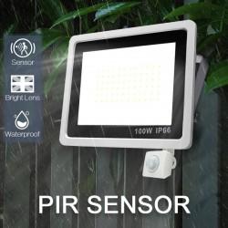 LED-Scheinwerfer - Außenreflektor - PIR-Bewegungssensor - wasserdicht - 10W - 20W - 30W - 50W - 100W