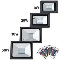 LED-Flutlicht - Außenreflektor - wasserdicht - 20W - 30W - 50W