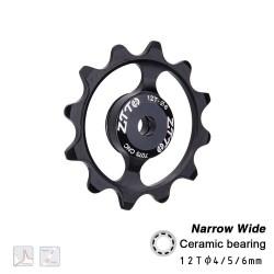 Ceramic bearing - derailleur - road bike - 12T