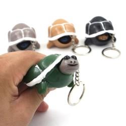 Plastikschildkröte - Schlüsselbund