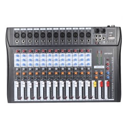 120S-USB - 12 Channels - Audio Mixer - Mixing Console - 48V Phantom Power