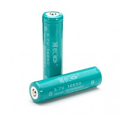 Batterie Li-ion 18650 rechargeable MECO 3.7v 4000mAh 2pc