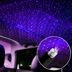 Mini USB projector - LED - car interior roof decoration - starry sky
