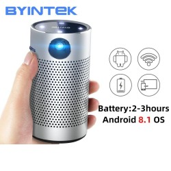P7 HD - LED - video - pocket mini projector - Android - WIFI - 1080P 4K