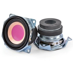 2 Inch - mini audio speakers - 4 Ohm - 3W - 2pcs