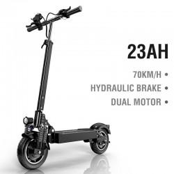 Janobike - 70km/h - 2000W - dual motor - hydraulic brake - 90km - electric scooter